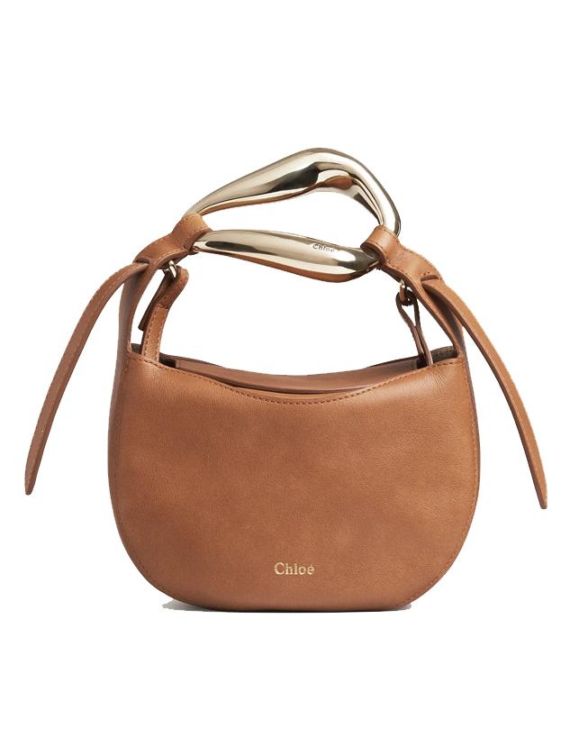 chloe kiss small bag brown sale