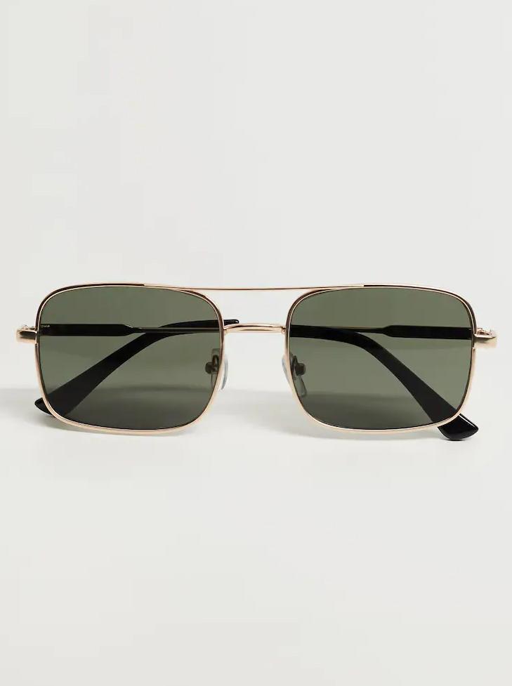 mango squer sunglasses