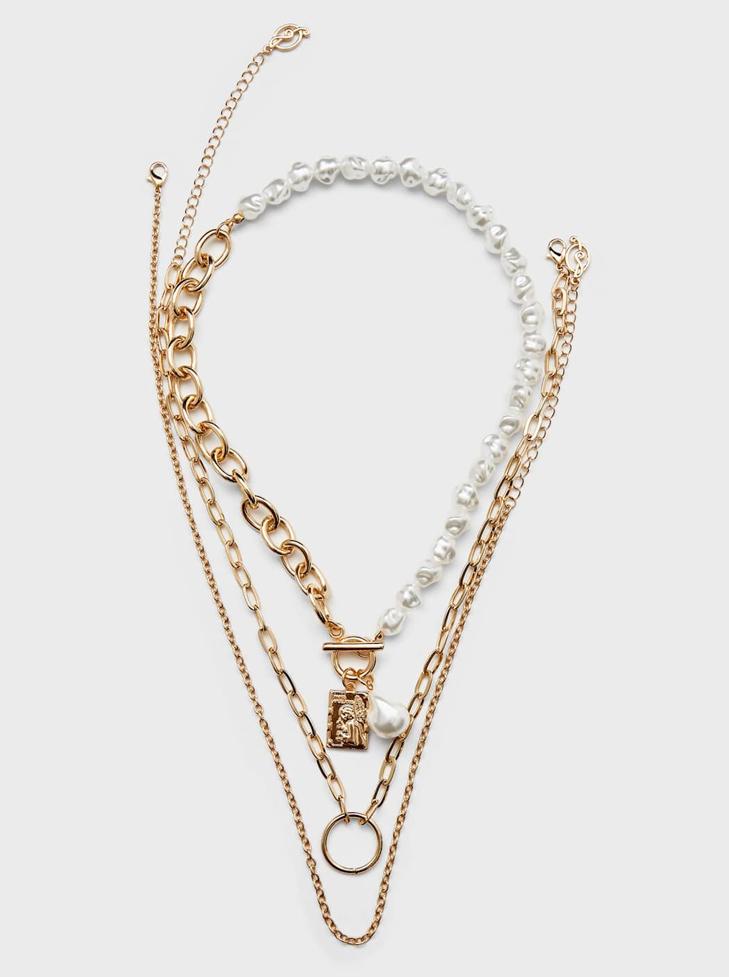 set of necklaces