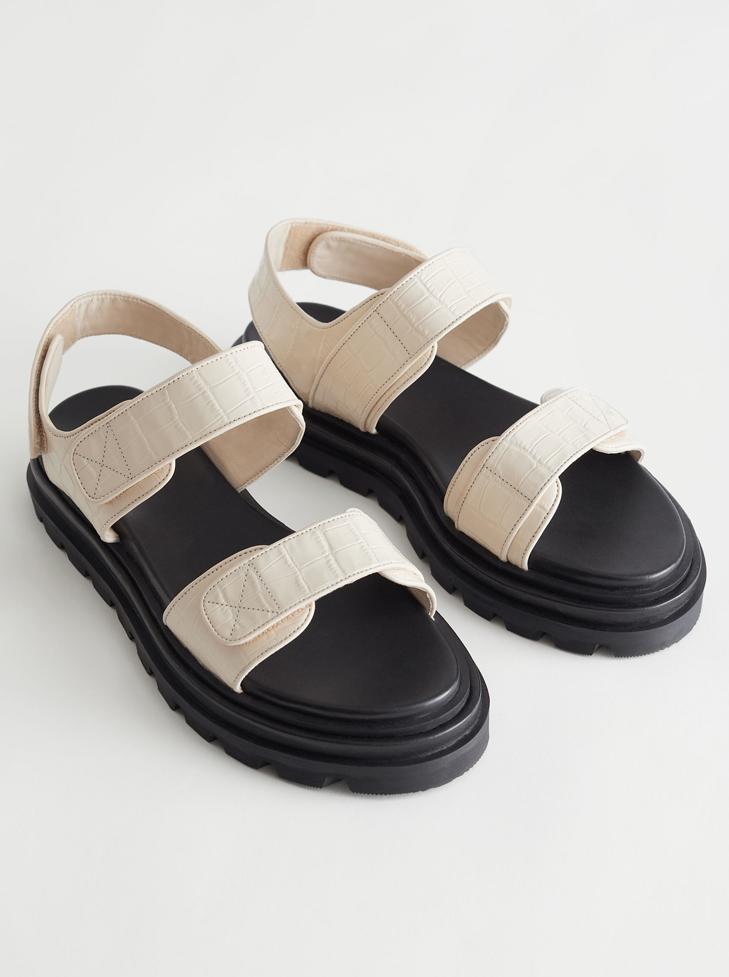 beige chanel sandals dupe