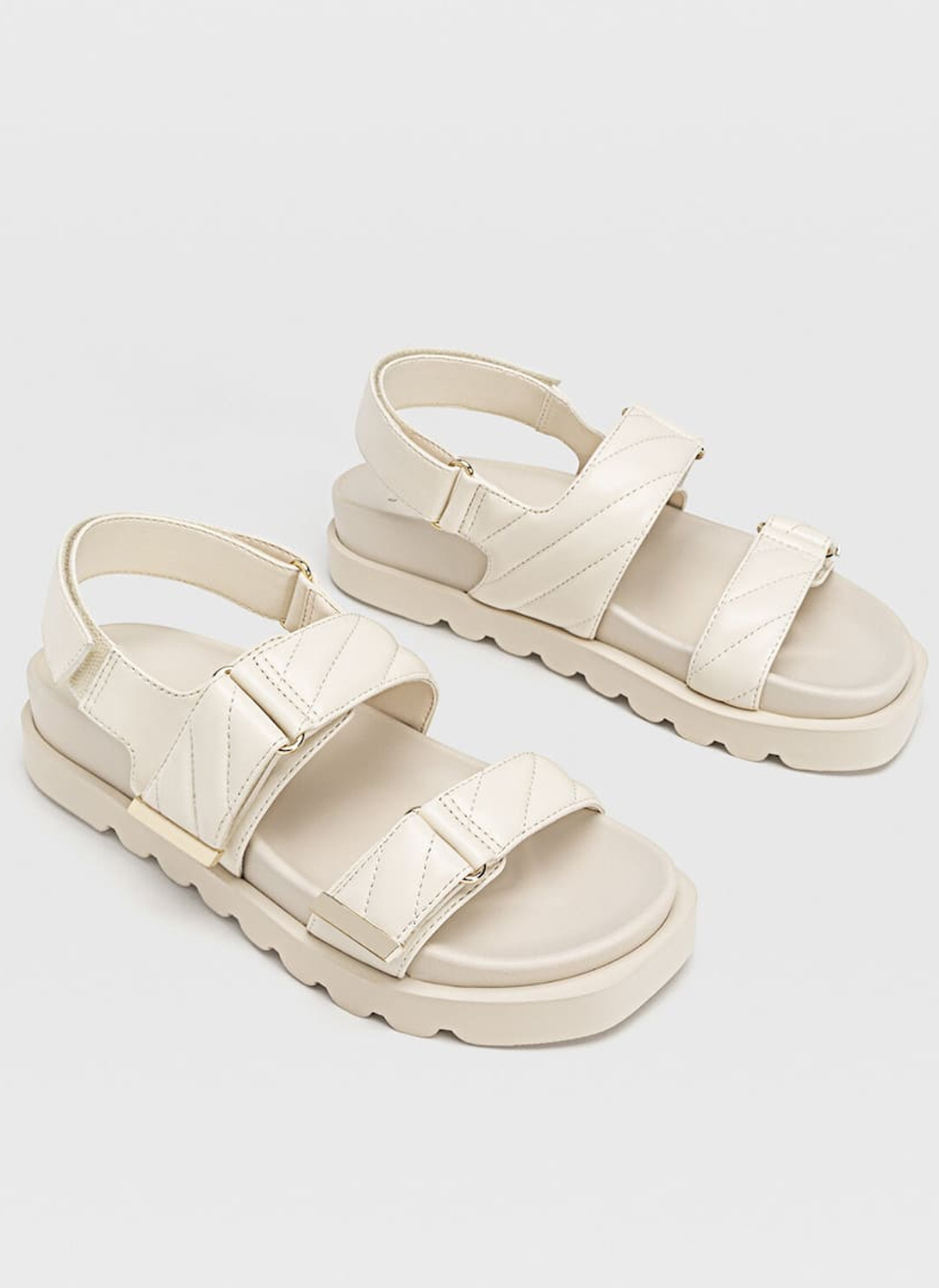 chanel dad sandals dupe beige