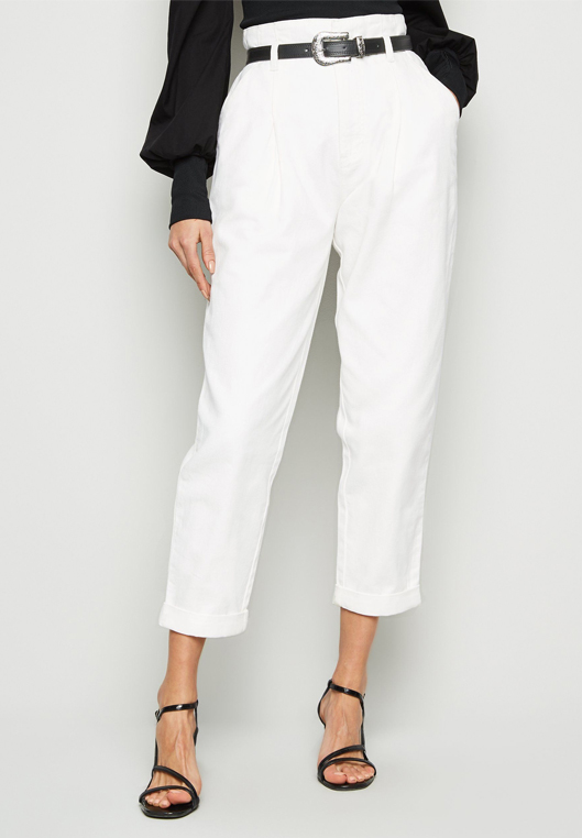 white jeans new look