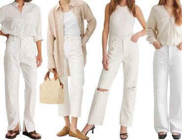 white jeans for spring summer 2021