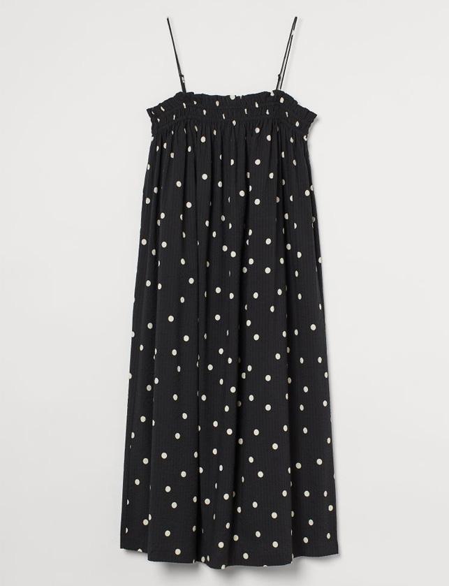 polka dot midi dress summer 2021