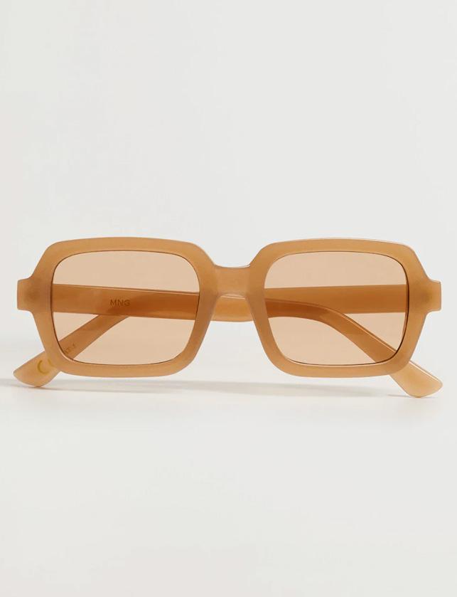 mango beige sunglasses