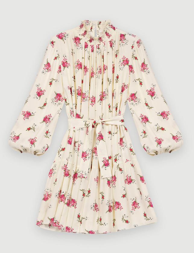maje baby doll dress sale