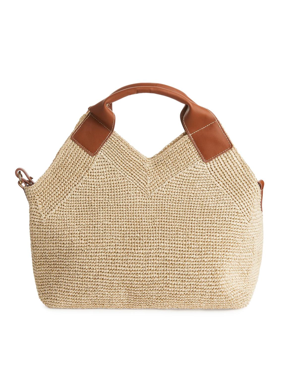 straw bag arket 2021