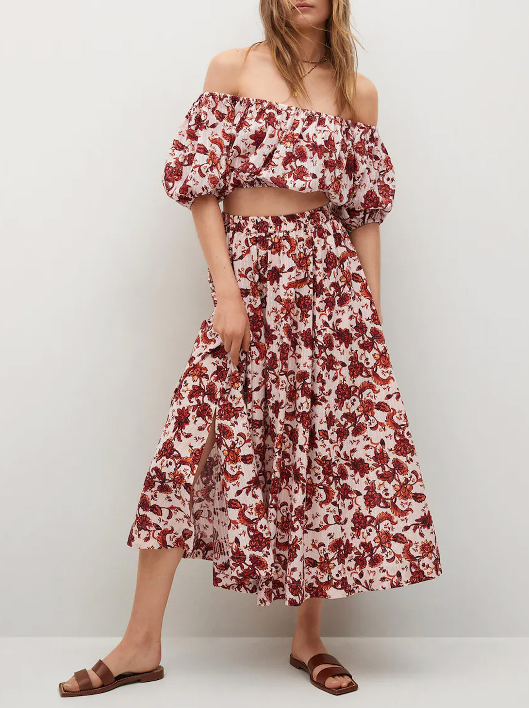 floral co ord summer mango