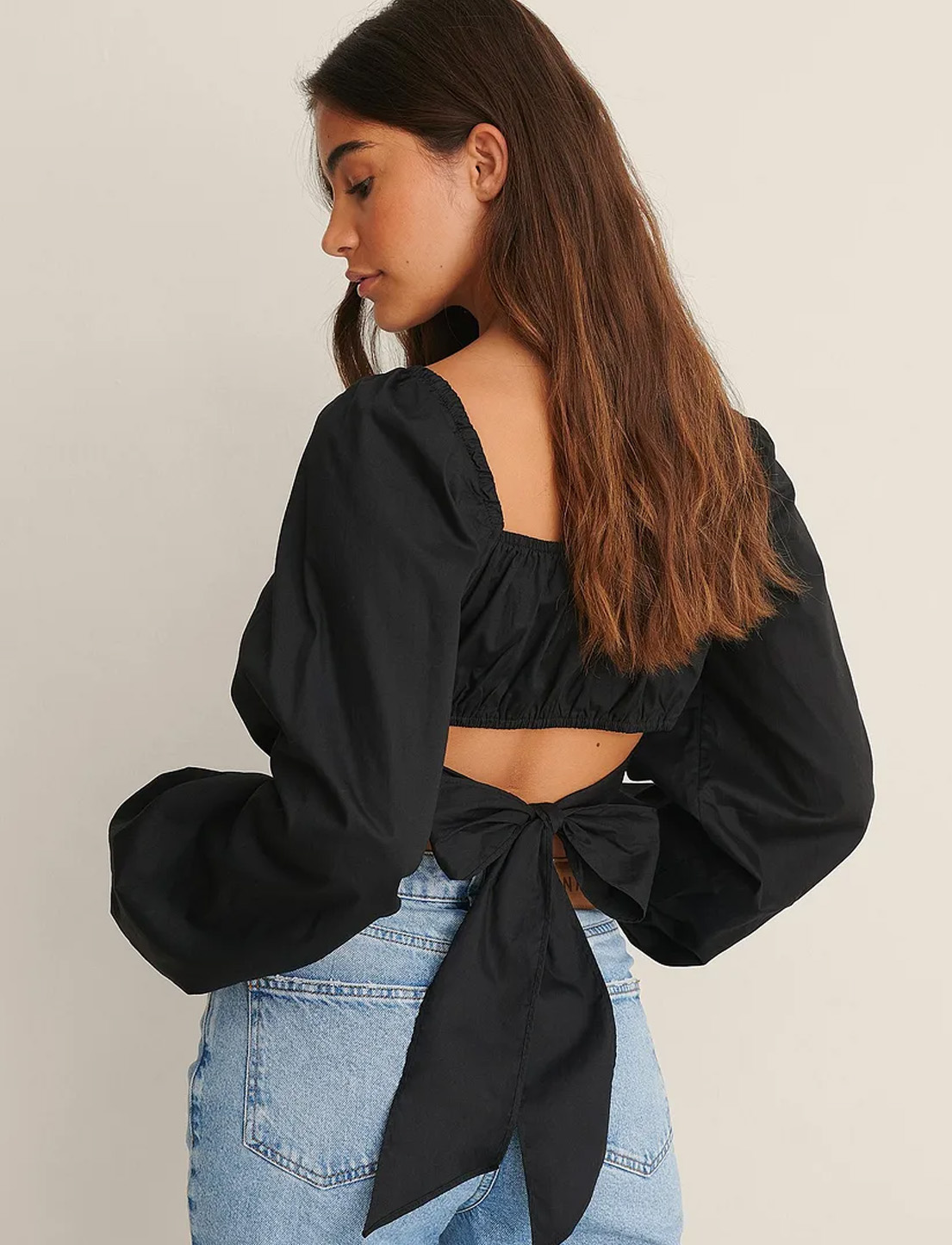black wrap top nakd fashion