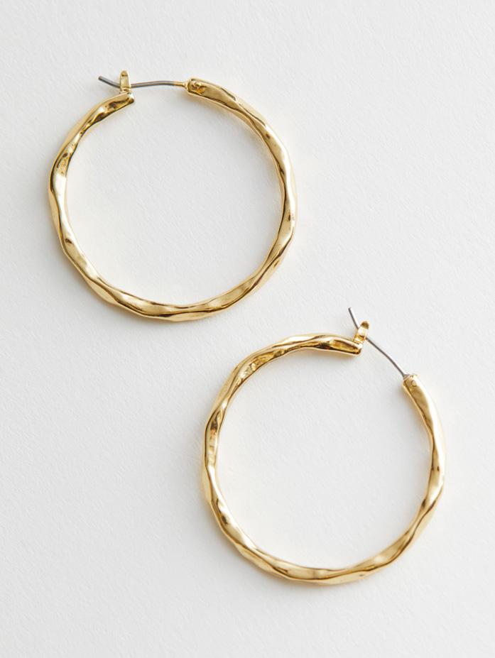 gold hoop earrings otherstories