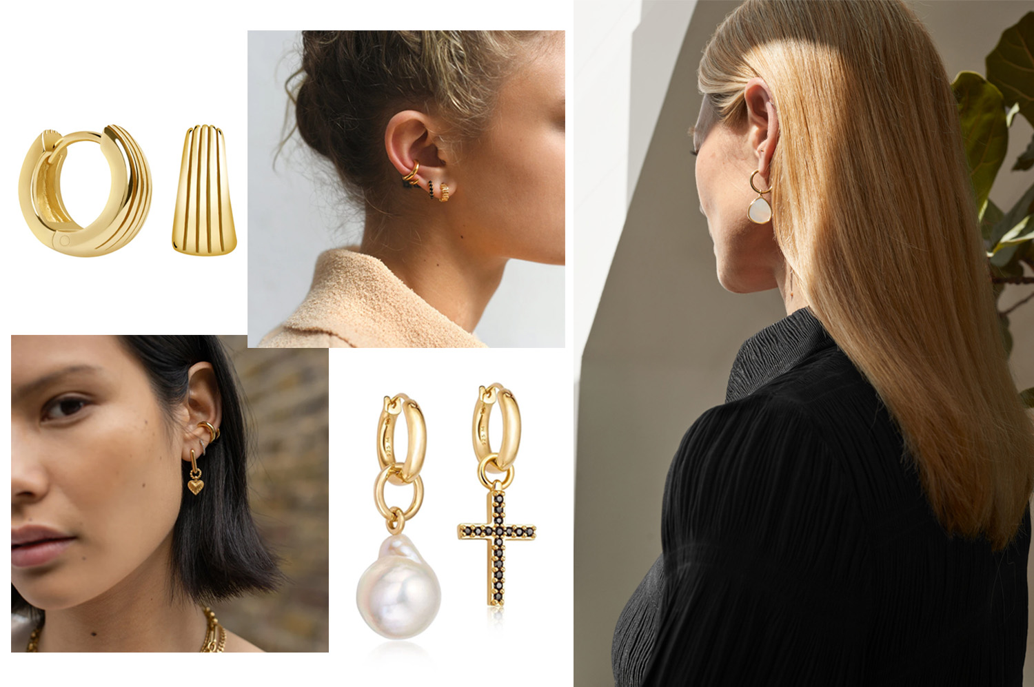 16 Pairs of Gold Earrings That Will Compliment Every Look