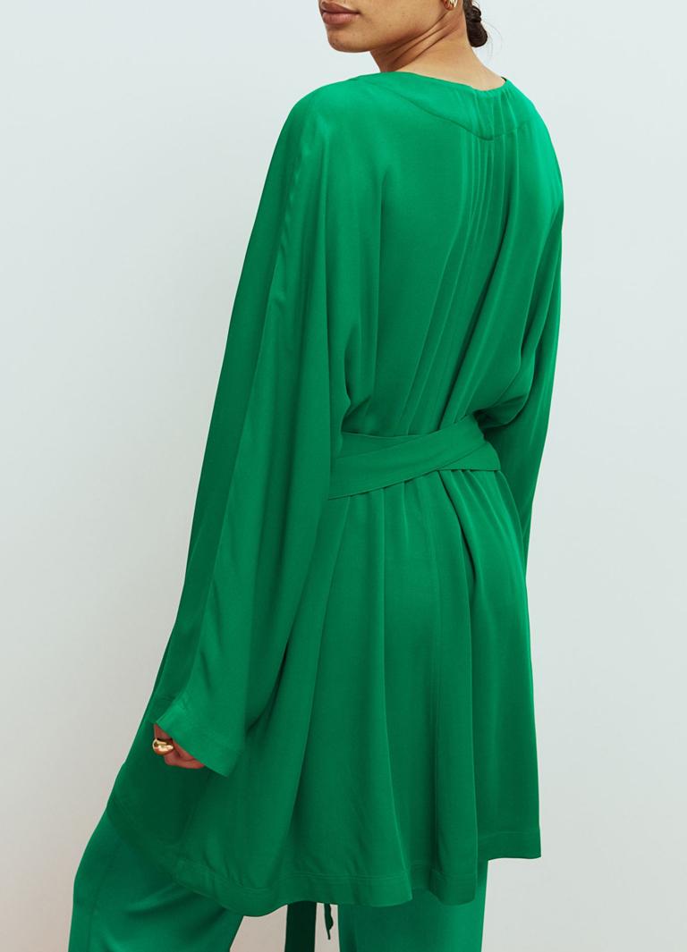 green kaftan women