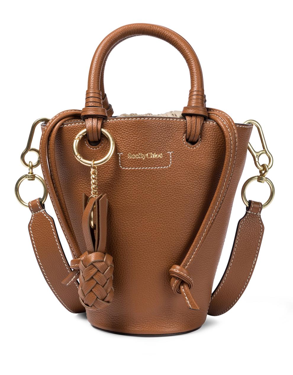see by chloe cecylia brown bag
