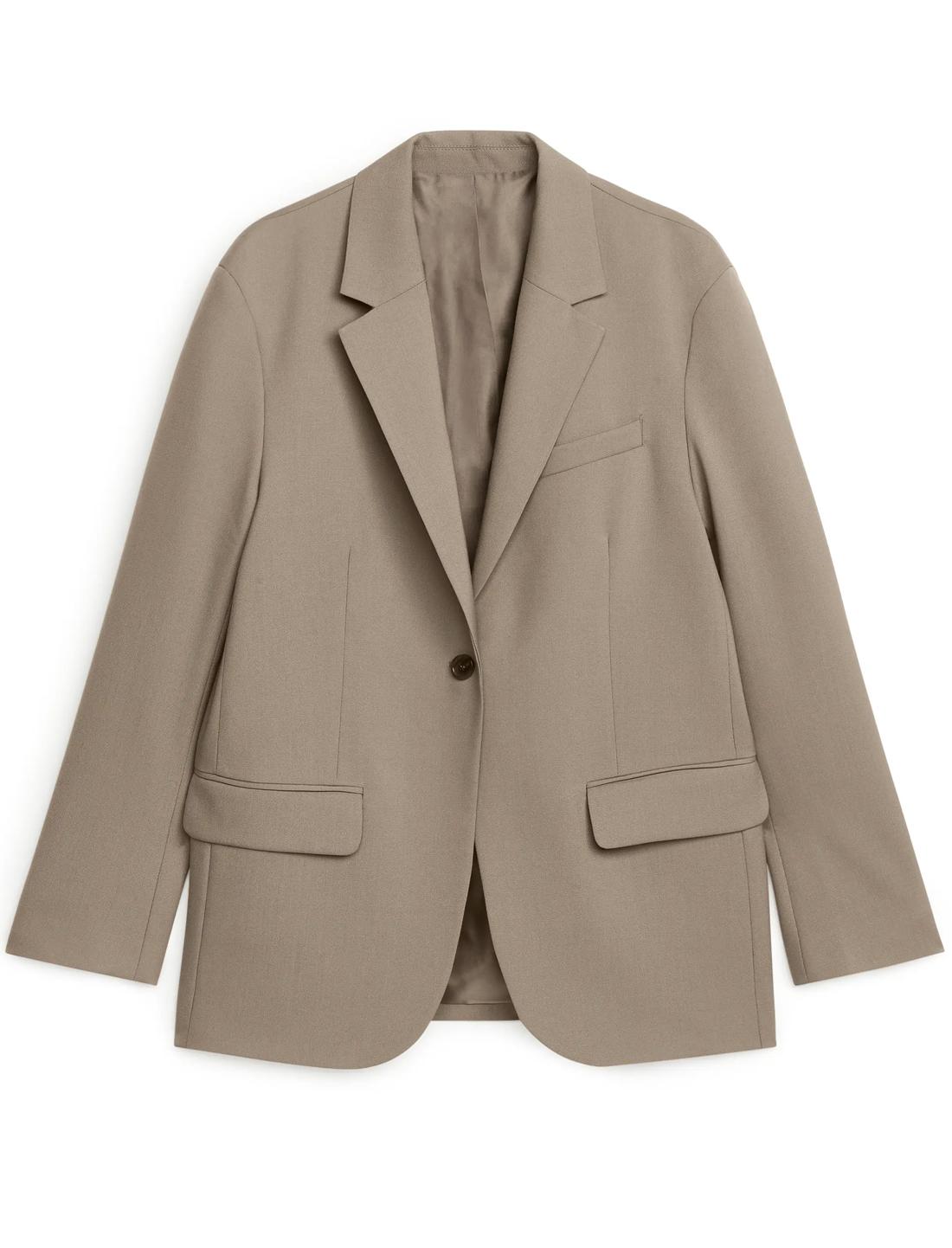 arket oversized blazer