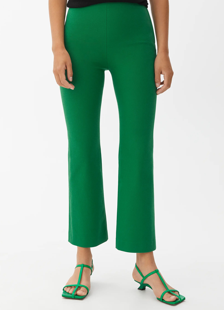 green women trousers