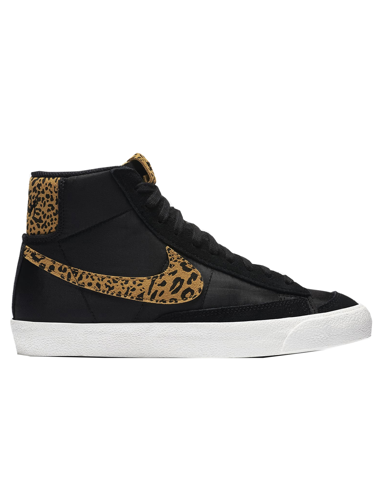 nike high tops leopard print