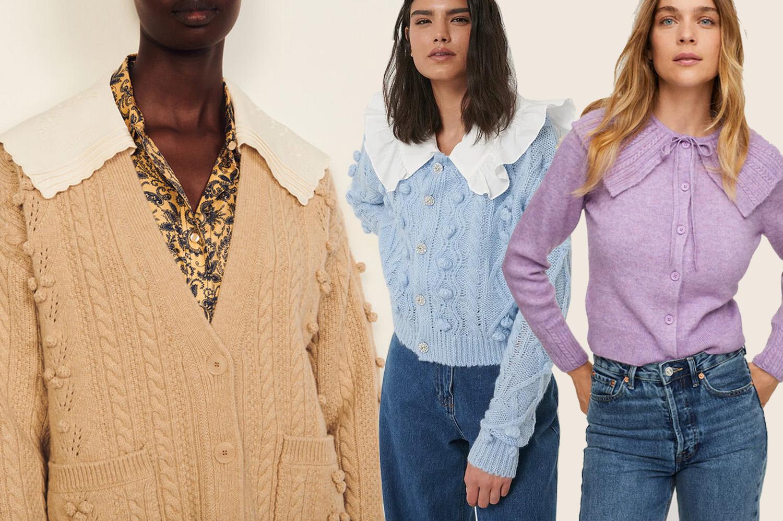 16 Stylish Collar Cardigans
