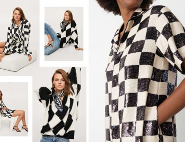 black and white checkered trend 2021